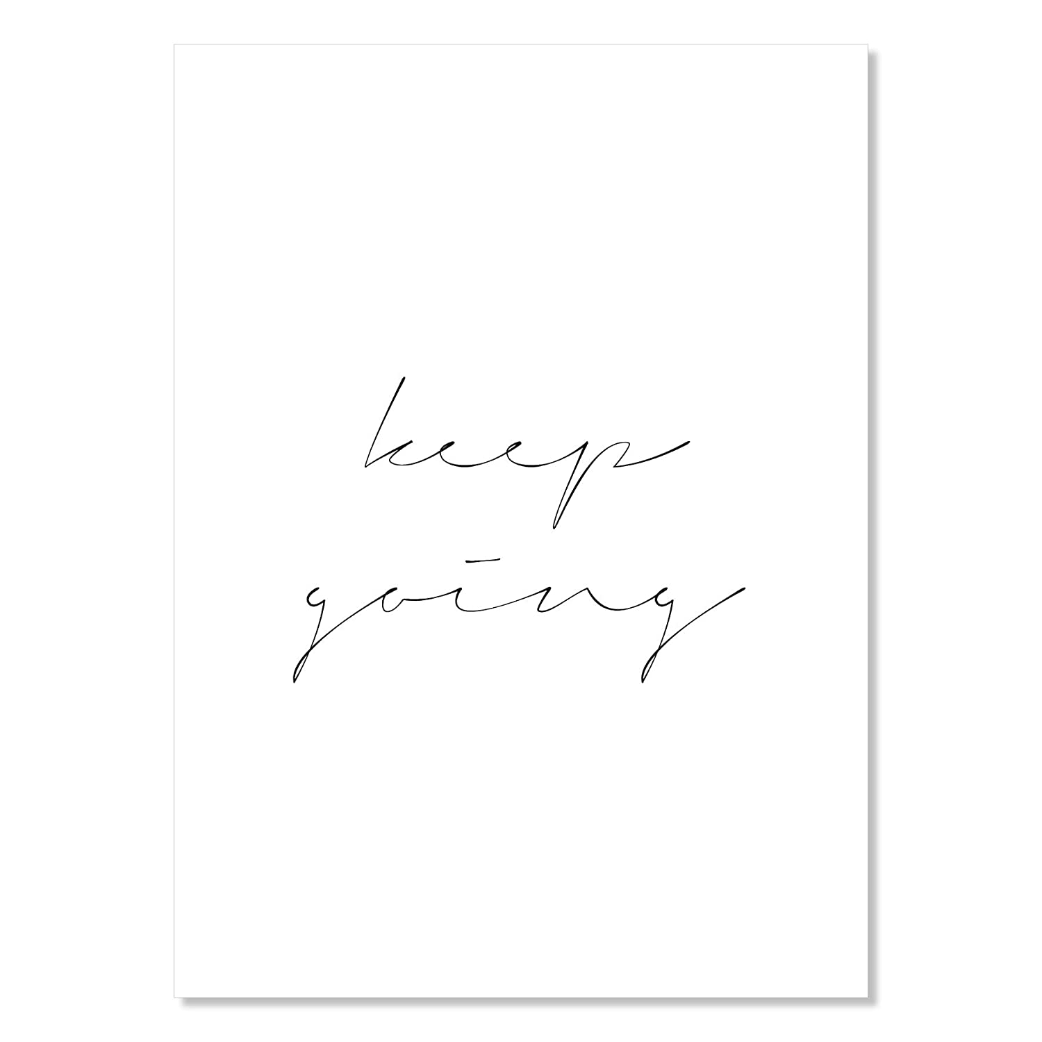 Keep Financial sales sale Going Unframed Print Outlet ☆ Free Shipping