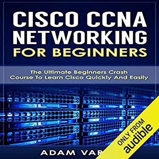 Cisco CCNA Networking for Beginners audiobook cover art