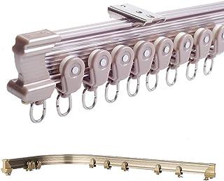szdealhola Brązowy aluminiowy pręt ze stopu metalu giętki