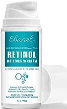 Retinol Cream 2.5% - 3.5 Oz, Anti Aging Face Cream with Hyaluronic Acid, Peptides, Vitamin C, E, B5, Aloe Vera, Shea Butter, Retinol Face Moisturizer Night Cream Anti Aging Cream Anti Wrinkle Cream