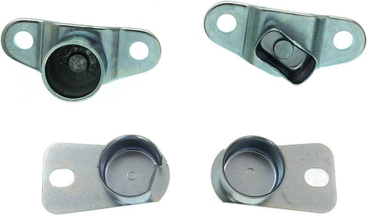 JUN Tailgate Mail order Hinges Set of Chev Left-and-Right Be super welcome Compatible 4 with