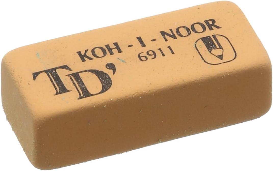 Max 69% OFF San Francisco Mall KOH-I-NOOR 6911020005KD Soft Eraser - Colours Assorted