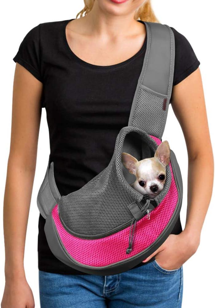 YUDODO Pet Dog Sling Carrier Mesh New Free Shipping B Safe Travel Breathable Genuine
