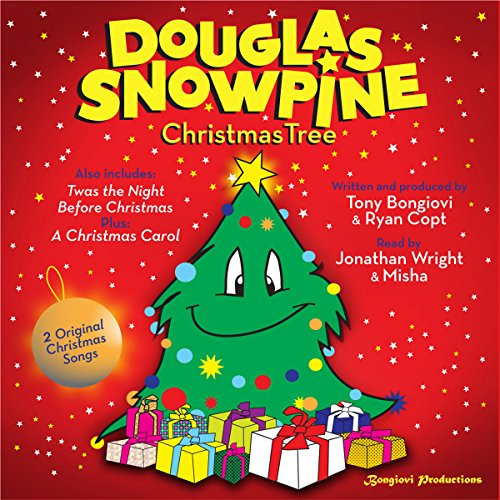 Douglas Snowpine, Christmas Tree audiobook cover art