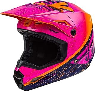 Fly Racing 2020 Kinetic Helmet - K120 (Large) (Orange/Pink/Black)