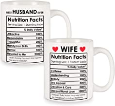Couples Gifts for Husband and Wife Valentines Gifts for Couples, Wedding Gifts for The Couple, Husband and Wife Nutrition ...