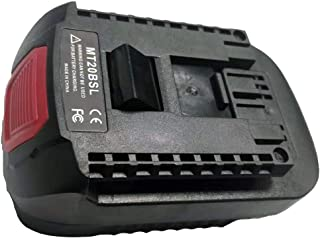 Convert to For Makita BL1830 BL1850 BL1860 18V Li-ion Battery Used convert to For Bosch 18V Electric Tool battery MT20BSL Battery Converter Adapter