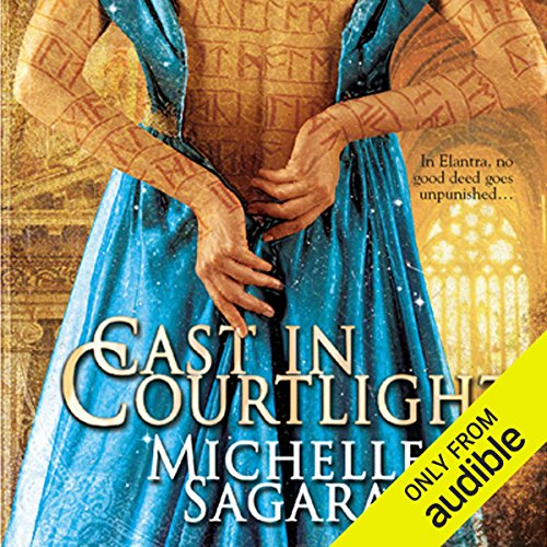Cast in Courtlight audiobook cover art