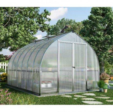 Serre de jardin en polycarbonate Bella 8,8 m²
