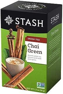 Stash Chai Green Green Tea Bags, 20 count(Case of 2)