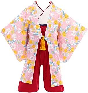 (ポッケポッシュ)Pokke Poche 女の子用羽織付き袴ロンパース【288508】