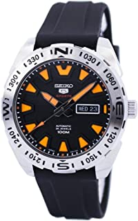 SEIKO Men's Automatic Watch, Analog Display and Rubber Strap SRP741J1