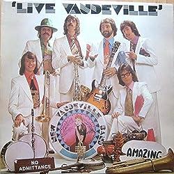 NEW VAUDEVILLE BAND Vinyl LP Live Vaudeville,Signed,EX+