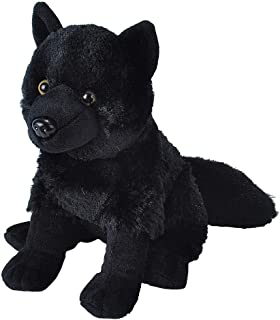 Wild Republic Wolf Plush, Stuffed Animal, Plush Toy, Kids Gifts, Black, 12