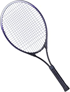 Dasuy Carbon Fiber Team Tennis Racket, Adult Sports Tennis Racquet, Super Light Weight Tennis Racquets Shock-Proof and Throw-Proof,Include Tennis Bag (Purple, 26inch×11inch×1inch)