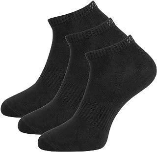 Toes&Feet Men's Anti-Odor Quick-Dry Thin No-Show Athletic Training Socks