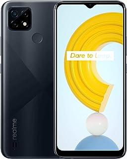 Realme C21 Dual SIM - 6.5 Inches, 64GB, 4GB RAM, 4G LTE - Black
