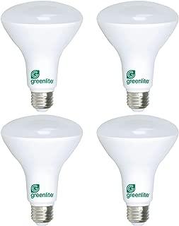 BR30 LED Floodlight, 11W (65W Equivalent), Dimmable, 850 Lumens, 3000k, E26 Medium Base, Energy Star (4 Pack)