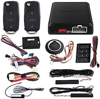 $119 » EASYGUARD EC002-V-NS Passive keyless Entry PKE car Alarm Push Button Start Remote Engine Start Touch Password keypad Entry...