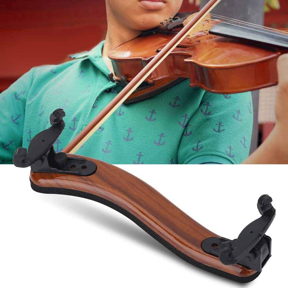Same day shipping Violin Shoulder Sales of SALE items from new works Rest 3 4 Brown + for profess beginners Black