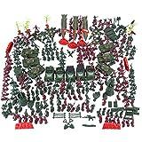301 piezas Modelo de soldado de plástico de 5 cm Segunda Guerra Mundial Soldier Military Toy para niños