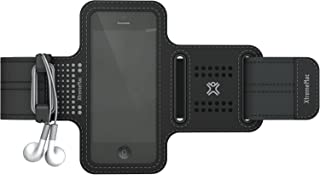 XtremeMac iPhone5S/5C/5/4S/4/3G/3GS/iPod touch対応 軽量スポーツアームバンド スポーツラップシリーズ ブラック IPP-SPN-13