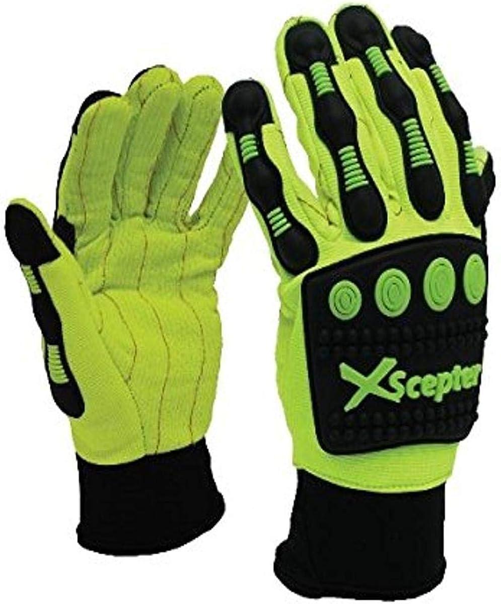 Xscepter Ranking TOP5 Anti-Impact Gloves Yellow Cotton Cord Palm Soldering C Neoprene