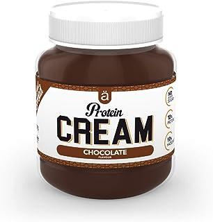 Nano Supps Protein Cream Hazelnut Spread 400g   No added sugar   18% protein   10% Hazelnut   Chocolate