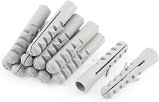 Uxcell a16022300ux0863 M8 x 45mm Full Thread Hexagon Socket Head Cap Screw Bronze Tone 6 Pcs