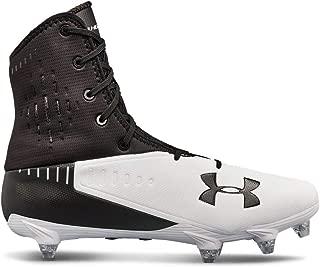 Under Armour Men's Highlight Select Football Shoe, Black (001)/White, 12 W US