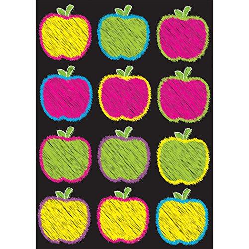 Ashley Productions Scribble Apples Die-Cut Magnet