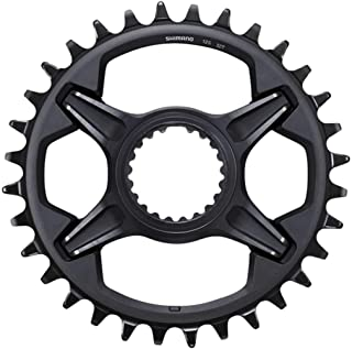 SHIMANO XT SM-CRM85 1x Chainring for M8100 and M8130 Cranks, Black