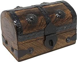 Nautical Cove Treasure Chest Keepsake and Jewelry Box Wood - Toy Treasure Box