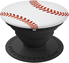 Cool Baseball Design For Boys Girls Moms or Dads - PopSockets Grip and Stand for Phones and Tablets