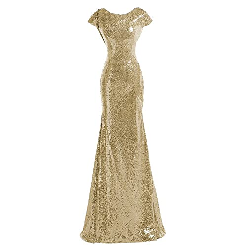 Gold Junior Bridesmaid Dress: Amazon.com