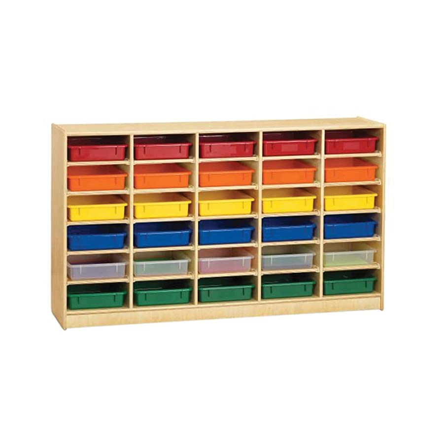 Jonti Craft Jonti-Craft 30 Paper-Tray Cubbie With Clear Paper-Trays electronic consumers