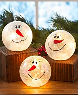 Best glass bowl snowman Reviews