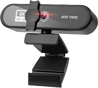غطاء كاميرا الويب Full HD Webcam For PC Computer 4K 8MP Webcam Laptop Autofocus 1080P Webcam With Microphone Lens Cover De...