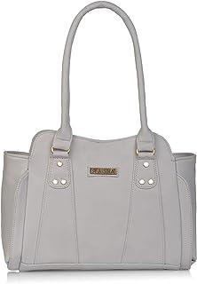 Aisna Women's Gene Handbag(ASN-175)(Light Blue)