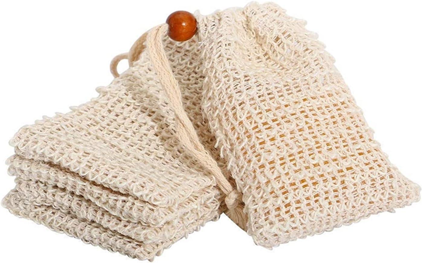 DLX LUDA Shower Bath Sisal Beauty products Bag Philadelphia Mall Exfol Soap Natural