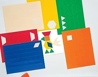 Carson Dellosa Ideal School Supply Pattern Blocks Stickers (1564518124)