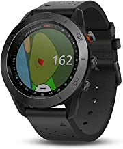 Garmin Approach S60 Ceramic Bezel Touchscreen GPS-Enabled Golf Watch with Preloaded Course Maps & Sleep Monitoring (Renewed)