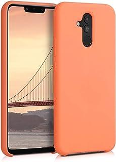 kwmobile Funda Compatible con Huawei Mate 20 Lite - Carcasa de TPU para móvil - Cover Trasero en Papaya