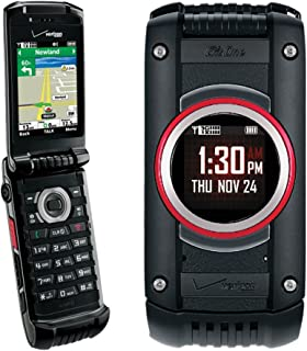 Casio G'zOne C781 Ravine 2 cell phone for Verizon - Rugged & Water Resistant - Black (Renewed)