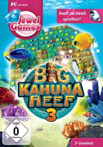 Jewel Games - Big Kahuna Reef 3 [Importación Alemana]