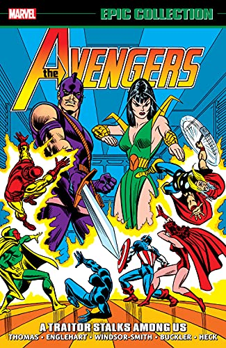 Avengers Epic Collection: A Traitor Stalks Among Us (Avengers (1963-1996)) (English Edition)