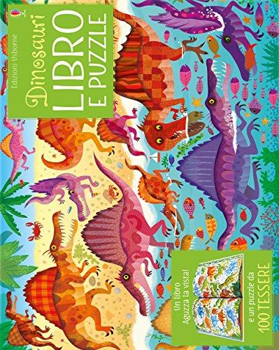 Dinosauri. Libro e puzzle. Ediz. a colori. Con puzzle