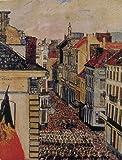 アンソール 「フランドル街の軍楽隊」 プリキャンバス複製画 ギャラリーラップ仕上げ(6号サイズ)