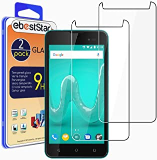ebestStar – [2-pack kompatibel med Wiko Sunny 2 Plus pansarglas skyddsfolie glas, skyddsglas skärmskydd, displayskyddsfoli...