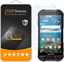 (2 Pack) Supershieldz for Kyocera (DuraForce Pro 2) Tempered Glass Screen Protector, Anti Scratch, Bubble Free